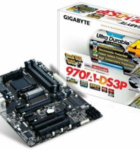 Новая Gigabyte 970 5x PCI + USB3.0