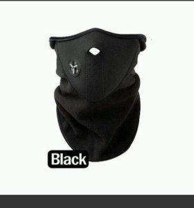 Флисовая маска для зимних видов спорта