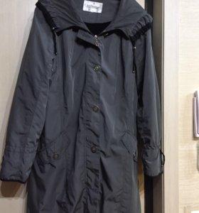 пальто плащ демисезонный 50-52
