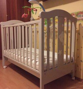 Комплект итальянской детской мебели Erbesi Cucu