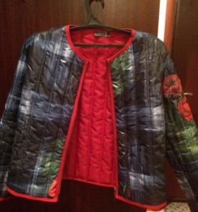 Куртка демисезонная стёганая