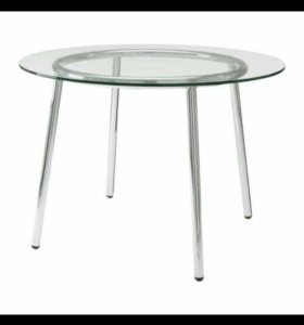 Стол IKEA стеклянный