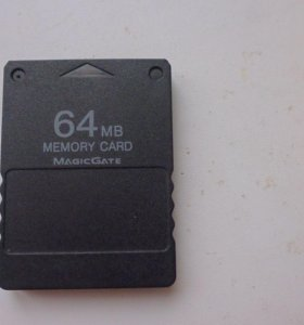 Карта памяти на 64МБ для PS1 PS2