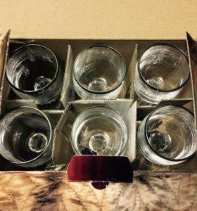 Набор рюмок для водки/ликера Bohemia 6x50