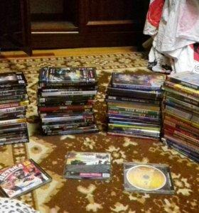 Dvd диски: игры, мульты,фильмы