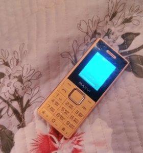 Телефон б/у MAXVI срочно
