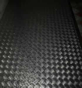 Лист алюминиевый 3:120, 3 мм 2шт
