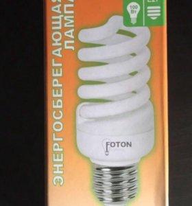 Лампа энергосберегающая 220v E27