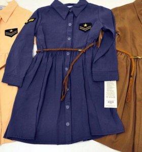 Новое модное платье для девочки детское Турция