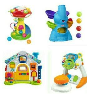 Брендовые игрушки напрокат