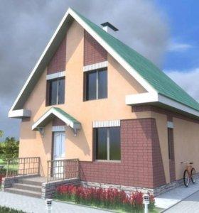 Строительство домов, коттеджей, под ключ.