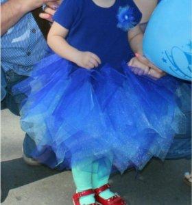 Красивое детское платье на любой праздник