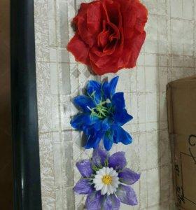 Искуственные цветы.
