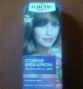 Palette √6 средне-русый