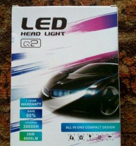 Авто лампа LED H11/Н8/Н9