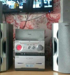 Японская акустика 5.0 такой нет не где.400ватт