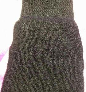 Носки зимние размер 27 без пятки.