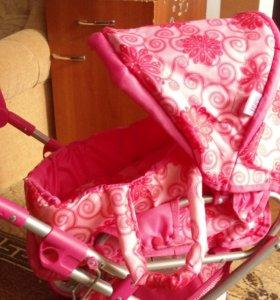 новая коляска для куклы