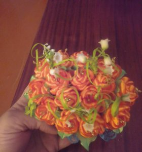 Корзинки с цветами