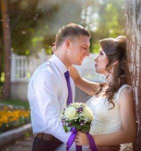 Профессиональная фото и видео съёмка свадеб