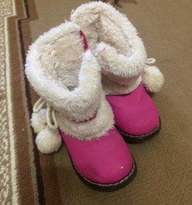 Зимние ботинки р. 19
