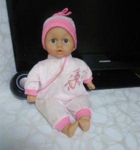 Кукла говорящая мягкая