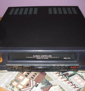 Video cassette player sharp model no. VC-M11