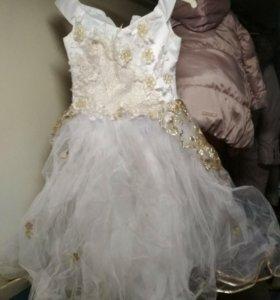 Нарядное платье рост 116-146