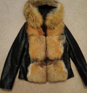 Куртка на подстежке из кролика
