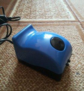Воздушный компрессор для аквариума новый.