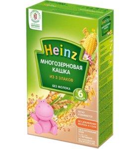 Каша HEINZ многозерновая 5 злаков, 200г