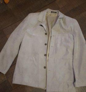 Пиджак из замши 52-54