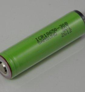 Литиевый аккумулятор Samsung 3000mAh ICR18650-30B