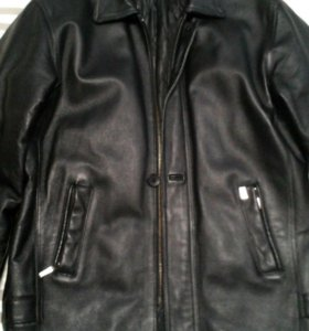 Куртка натуральная кожа 50- 52 рост 176