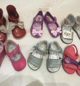 Обувь на девочку 20-21 р