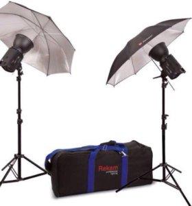 Студийный свет HaloLight-1000 Super Kit