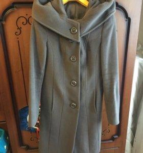 Пальто шерстяное, 44размера