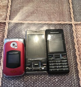 Телефоны Sony Ericsson