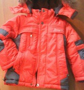 Куртка на мальчика 2-4 года