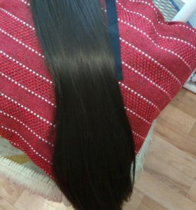Волосы на заколках,наращивание волос.