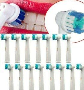 Насадка на электрическую зубную щетку
