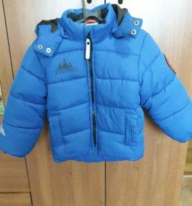 Куртка осень весна теплая зима