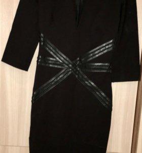 Платье чёрное Love Republic XS новое