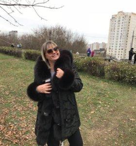 Новая женская парка
