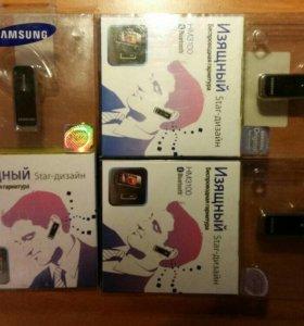 Новая bluetooth-гарнитура Samsung HM3100