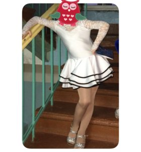 Платье для танцев, рост 122