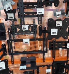 Кронштейны для ТВ, акустики, ресиверов
