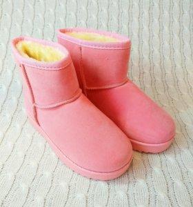 Детские Розовые угги💞