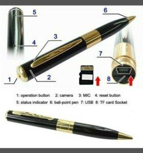 Ручка и встроенная видеокамера