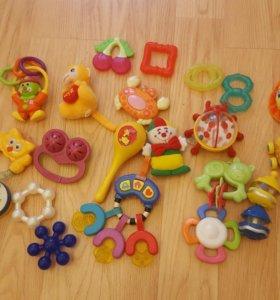 Развивающие игрушки много